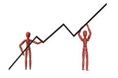 Costruzione di affari Immagini Stock