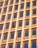 Costruzione di affari con la singola finestra aperta Immagine Stock Libera da Diritti