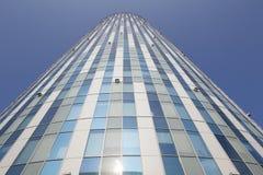 Costruzione di affari dell'ufficio della torre del cielo Fotografia Stock Libera da Diritti