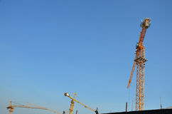 Costruzione di affari della costruzione alla Tailandia Immagini Stock Libere da Diritti
