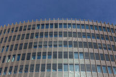 Costruzione di affari, facciata dell'edificio per uffici immagini stock
