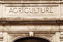 Costruzione di agricoltura Immagine Stock