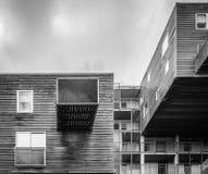 Costruzione di alloggio iconica a Amsterdam Immagine Stock