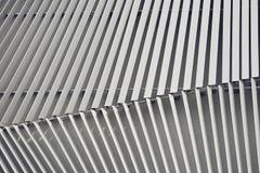Costruzione di alluminio della facciata Immagine Stock