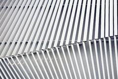 Costruzione di alluminio della facciata Fotografia Stock Libera da Diritti