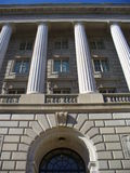 Costruzione di amministrazione fiscale Immagini Stock Libere da Diritti