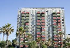 Costruzione di appartamenti, grezza Fotografia Stock Libera da Diritti