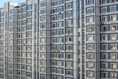 Costruzione di appartamento Fotografie Stock