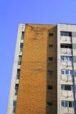 Costruzione di appartamento Fotografia Stock Libera da Diritti