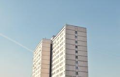 Costruzione di appartamento immagine stock