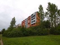 Costruzione di appartamento Fotografia Stock