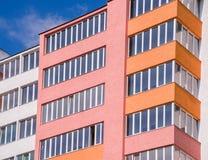 Costruzione di appartamento Immagine Stock Libera da Diritti