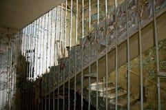 Costruzione di appartamento abbandonata Fotografie Stock Libere da Diritti