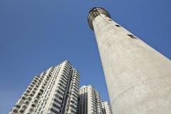 Costruzione di appartamento ad alta densità, Pechino, Cina Immagine Stock Libera da Diritti