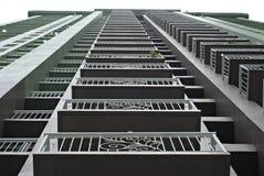Costruzione di appartamento alta Fotografie Stock