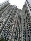 Costruzione di appartamento alta Hong Kong Fotografia Stock