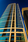 Costruzione di appartamento alta nella città concentrare, Filadelfia, Pennsylvan Fotografia Stock