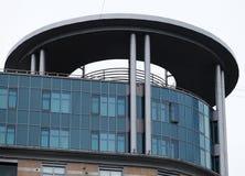 Costruzione di appartamento alta in Russia Architettura residenziale Fotografia Stock