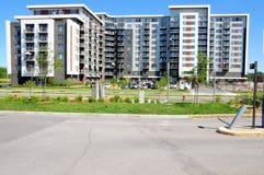 Costruzione di appartamento, Canada Fotografia Stock Libera da Diritti
