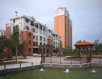 Costruzione di appartamento, Cina Fotografie Stock Libere da Diritti