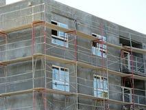 Costruzione di appartamento in costruzione Immagini Stock