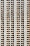 Costruzione di appartamento di Densed Immagine Stock Libera da Diritti