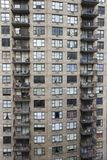 Costruzione di appartamento di New York City. Fotografia Stock