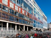Costruzione di appartamento di Silodam a Amsterdam, Olanda Immagine Stock Libera da Diritti
