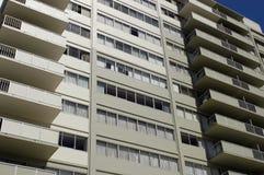 Costruzione di appartamento generica immagini stock