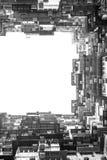 Costruzione di appartamento a Hong Kong Topview Immagine Stock