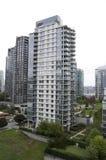 Costruzione di appartamento moderna Immagine Stock