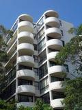 Costruzione di appartamento moderna Immagine Stock Libera da Diritti