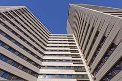 Costruzione di appartamento moderna Immagini Stock Libere da Diritti