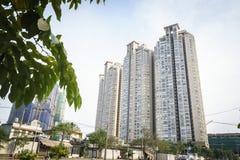 Costruzione di appartamento moderna nel Vietnam Fotografie Stock