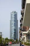Costruzione di appartamento moderna portsmouth l'inghilterra Fotografia Stock