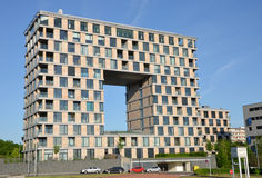 Costruzione di appartamento moderna a Praga Fotografia Stock