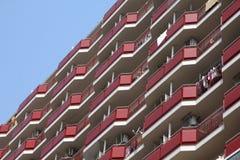 Costruzione di appartamento nel Giappone Immagine Stock Libera da Diritti