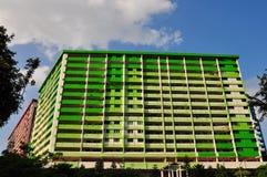 Costruzione di appartamento pubblica Immagini Stock Libere da Diritti