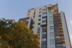 Costruzione di appartamento a Pyrmont a Sydney, Australia Appartamento bl Immagini Stock