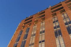 Costruzione di appartamento Pyrmont a Sydney, Australia Palazzina di appartamenti Fotografie Stock Libere da Diritti