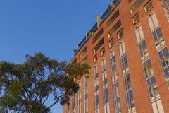 Costruzione di appartamento Pyrmont a Sydney, Australia Palazzina di appartamenti Immagini Stock Libere da Diritti