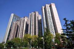 Costruzione di appartamento, Qingdao Immagini Stock Libere da Diritti