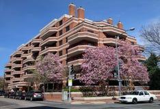 Costruzione di appartamento residenziale Immagini Stock Libere da Diritti