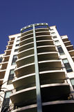 Costruzione di appartamento urbana Fotografie Stock Libere da Diritti