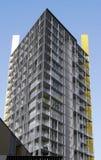Costruzione di appartamento urbana Fotografia Stock