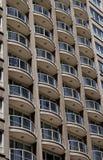 Costruzione di appartamento urbana Fotografie Stock