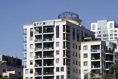 Costruzione di appartamento urbana Immagine Stock Libera da Diritti