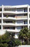 Costruzione di appartamento urbana Fotografia Stock Libera da Diritti