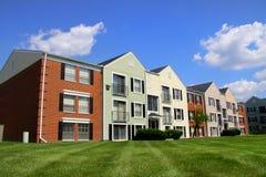Costruzione di appartamento variopinta Fotografia Stock