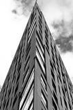 Costruzione di appartamento a Varsavia Fotografie Stock
